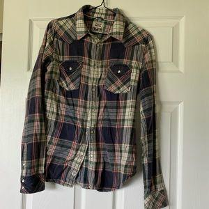 TNA Long Sleeve Button Down Shirt